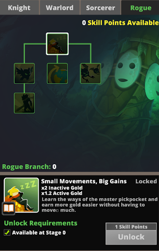 Rogue branch